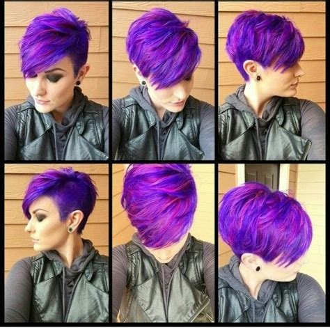 15 Awesome Hairstyles That You Will Love I ♡ Purple