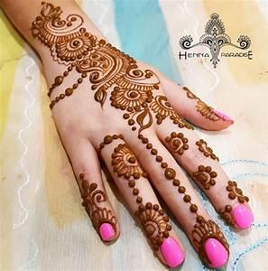 Stylish Mehndi Designs / Henna Designs By Henna Paradise