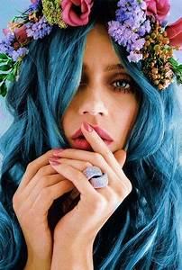 hair color trend dreamy blue hair pretty designs