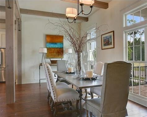 beautiful  affordable centerpiece ideas  dining room