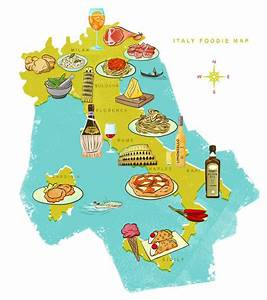 Italy Food Map - 16 Italian Foods and Drinks You Have To Try