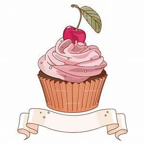 Clipart Cupcake Banner Royalty Free Vector Design ...