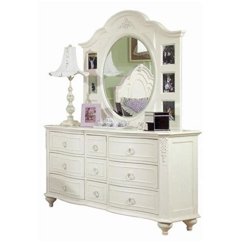 kids white dresser  mirror home furniture design