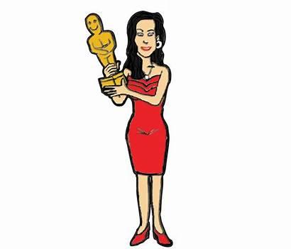 Clipart Actor Actress Clip Transparent Cartoon Award