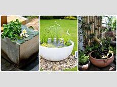 15 Fascinating LowBudget DIY Mini PondsInAPot