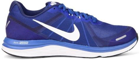 nike dual fusion running shoes for buy racer blue