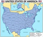 The 63 States of America | Fantasy map, America map ...
