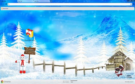 winter christmas theme 9 trending chrome themes for december brand thunder