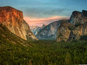 Yosemite Valley Wallpaper Desktop Background Is 4k