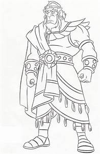King Sauls Disobedience Free Coloring Pages