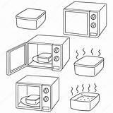 Microwave Drawing Oven Drawings Getdrawings sketch template
