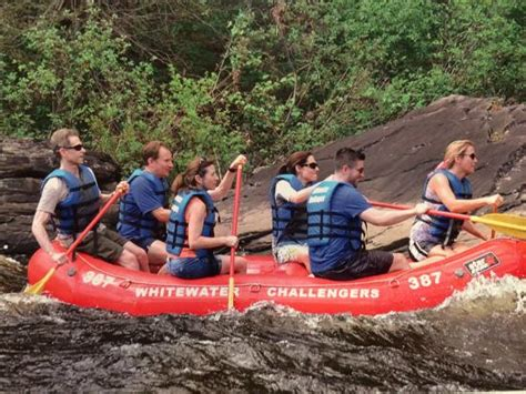 Rafting Lehigh River  Picture Of Whitewater Challengers