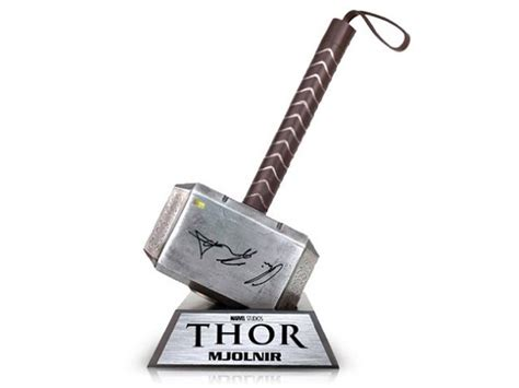 thor mjolnir replica brings hammer down for justice