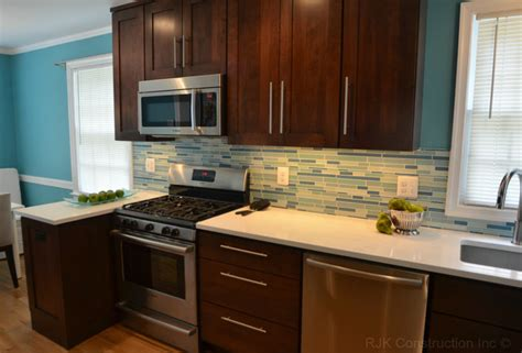 kitchen cabinets construction electric blue kitchen modern kitchen dc metro by 2939
