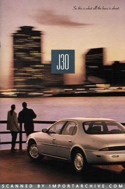 92 Infintiy J30 by Importarchive Infiniti J30 Brochure 1993 1997 Free
