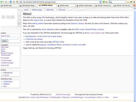 wiki template jspwiki media wiki template