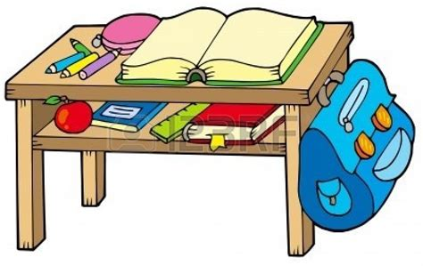 Classroom Table Clipart