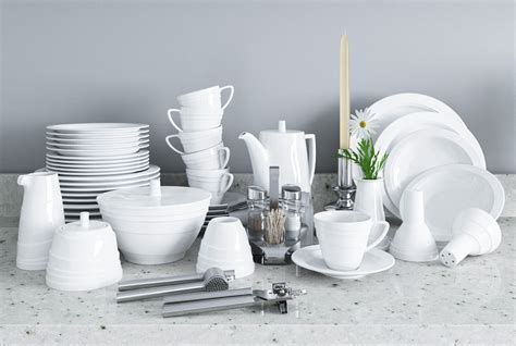 3D model A set of dishes and kitchen appliances VR / AR