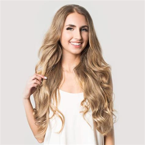luxy set clip in hair extensions color 18 160 grams