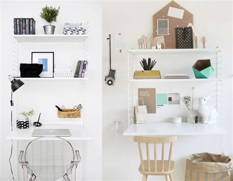 etagere sur bureau 20 inspirations pour un petit bureau joli place