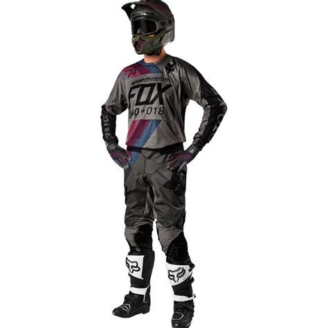 fox motocross gear 2018 fox racing 360 draftr gear kit charcoal sixstar racing