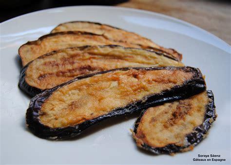 cuisiner aubergine poele gâteaux en espagne recette pour faire les enfants manger