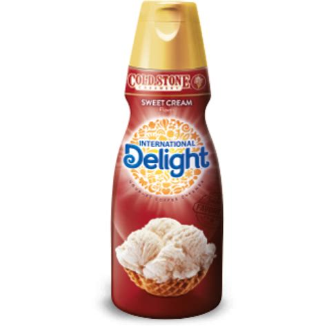 International Delight Gourmet Coffee Creamer Cold Stone Creamery Sweet Cream   16.0 FL OZ