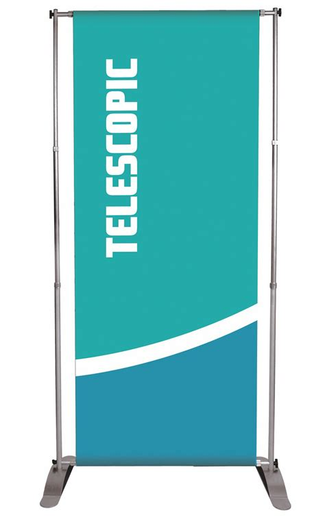durable banner stands retractable banner stands silver