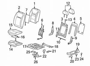 Chevrolet Impala Seat Heater Pad  Back  Heated  Components