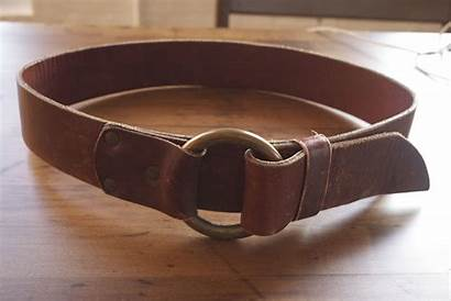 Belt Leather Brass Economy Ring Laws General