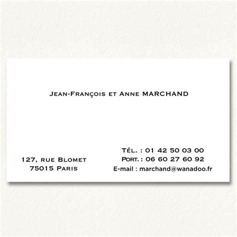 modèle carte de visite personnelle classique cartes de visite 90 x 55 imprimerie rapide