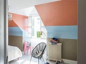 peinture chambre 20 couleurs deco pour repeindre ses murs With peinture chambre sous pente