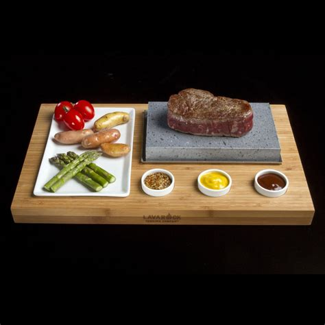 lava rock cooking lava rock cooking set the green 3683