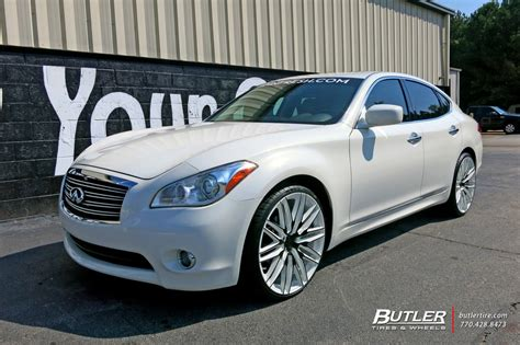 infiniti    niche anzio wheels exclusively