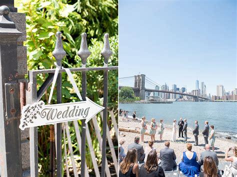 brooklyn bridge park wedding  ashley tim