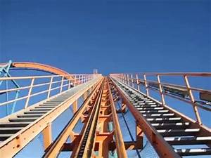 The biggest roller coaster drop in the world!! - YouTube