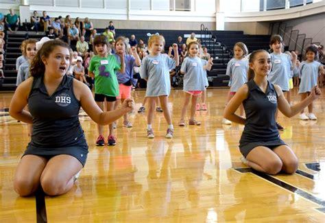 deb cheerleader mini camp st marys dominican high school