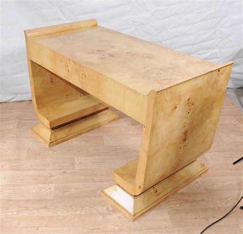 bureau vintage deco desk writing table bureau vintage walnut