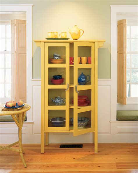 Ruby Glass Cabinet  Traditional  Dining Room Other