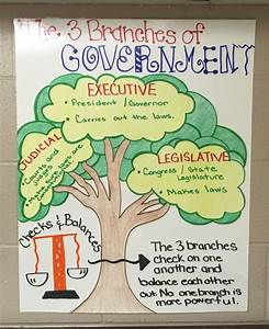 3 Branches Of Government Anchor Chart  U2026  U2026