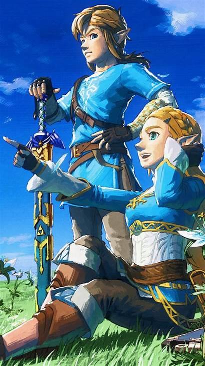 Zelda Breath Wild Legend 4k Iphone Wallpapers