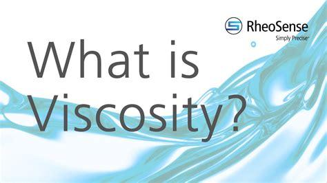 viscosity youtube