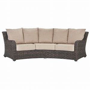 Home depot sofa la z boy outdoor sofas lounge furniture for Sectional sofas home depot