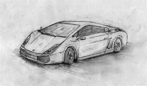 lamborghini sketch lamborghini gallardo pencil