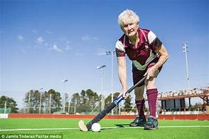 World's oldest hockey player Marie Larsen retires aged 79 ...