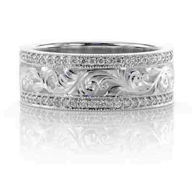 Unique Western Wedding Rings