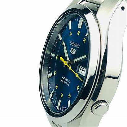 Seiko Dial Automatic Steel Stainless Mens Silver