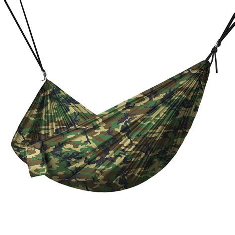 Camouflage Hammock portable 2 person hammock rope hanging swing cing
