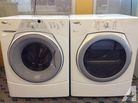 whirlpool duet front load washer dryer set pair used