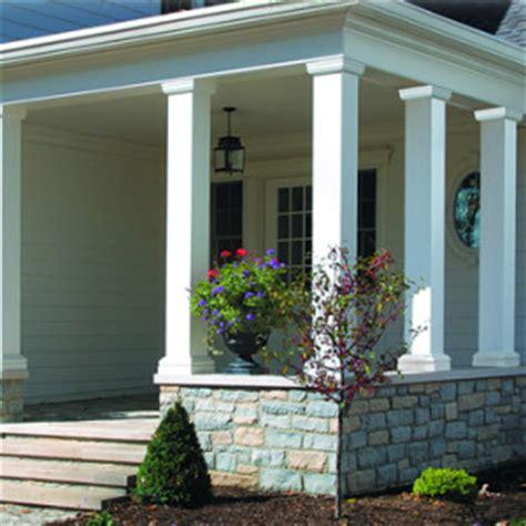 aluminum porch columns vinyl aluminum fiberglass columns ontario exterior